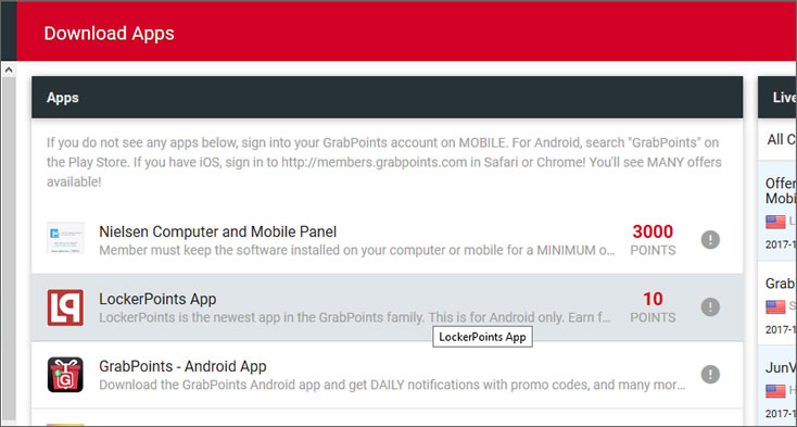 grabpoints download apps