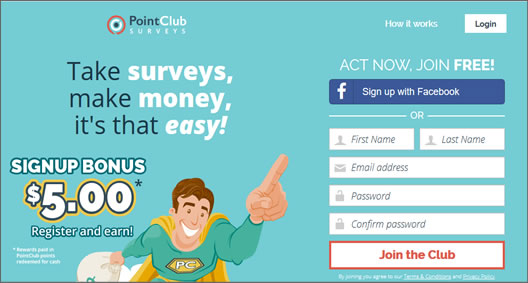 Point Club Surveys