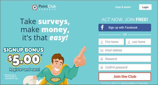 Point Club Surveys