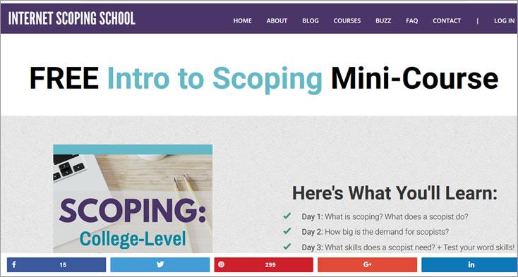 Internet Scoping School