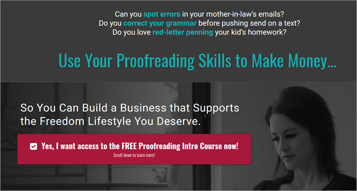 7-Day Proofreading E-course