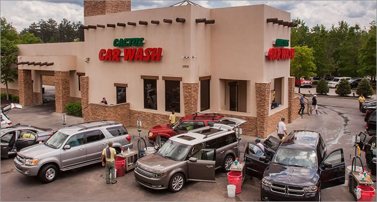 Cactus Car Wash Franchise