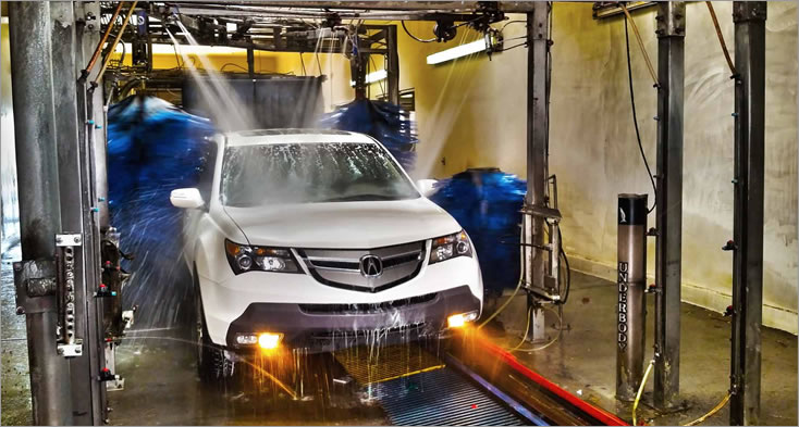 automatic car wash