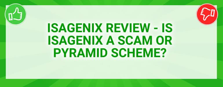 Isagenix scam