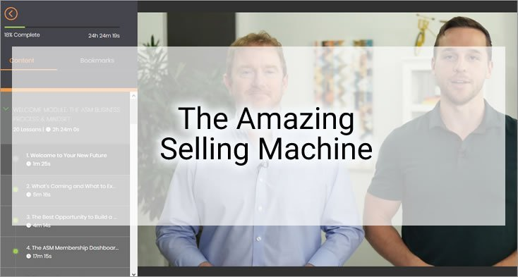 The Amazing Selling Machine